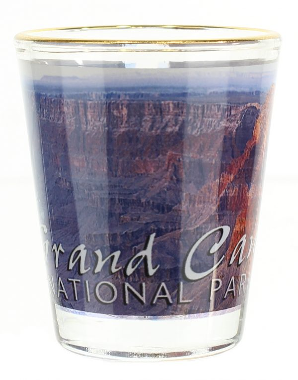 Grand Canyon Navajo Point Shot Glass