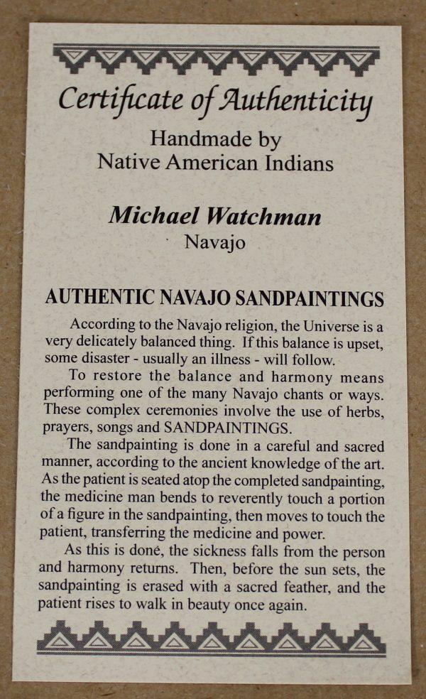 SP1031 - Navajo Sandpainting