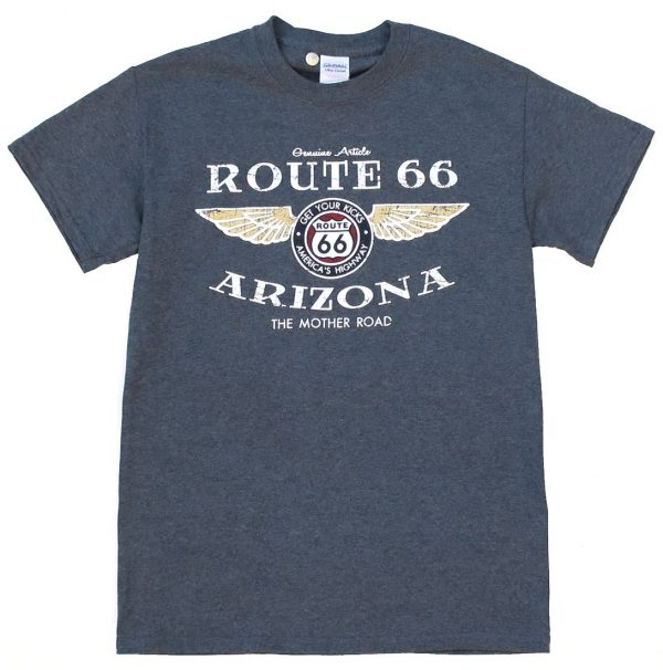 S502RT66 - Stenson Route 66 T-shirt