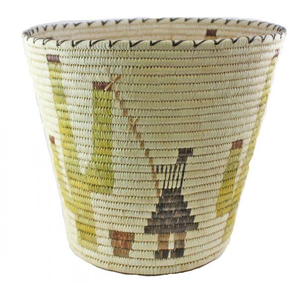 Margaret Saraficio Handmade Tohono O'odham Basket