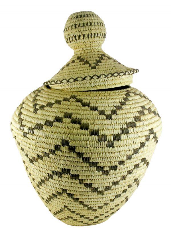 Handwoven Tohono O'odham Basket