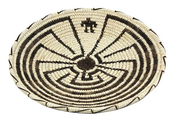Tohono O'Odham Man in the Maze Basket