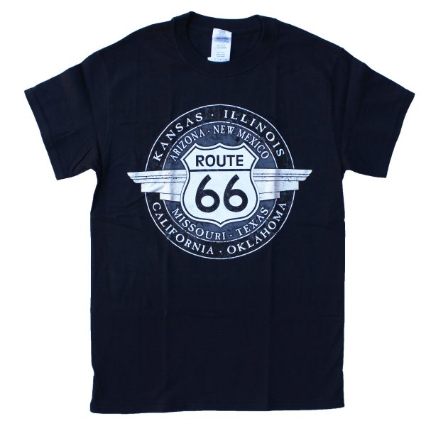 Round Route 66 T-shirt