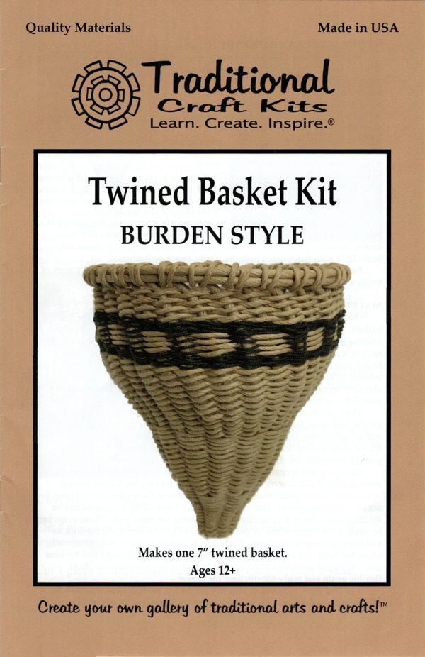 Twined Basket Kit - Burden Style