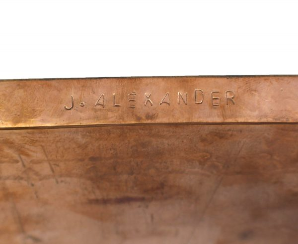 WJA0233 - Medium Stamped Copper Tray