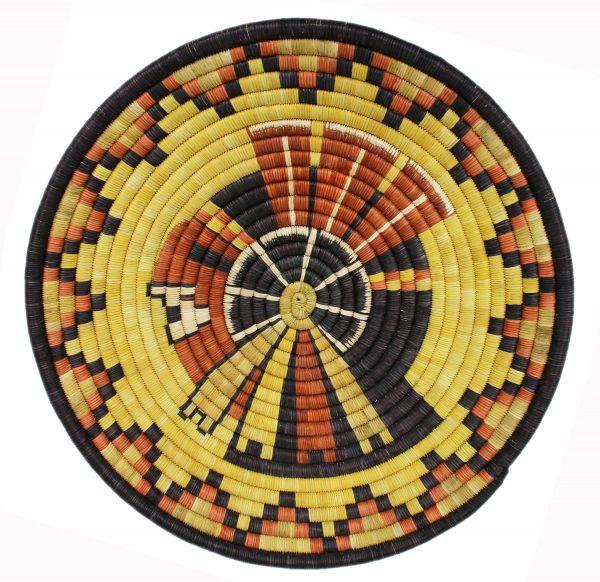 Hopi Handmade Coil Basket