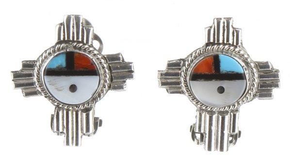 Zuni Clip on Earrings